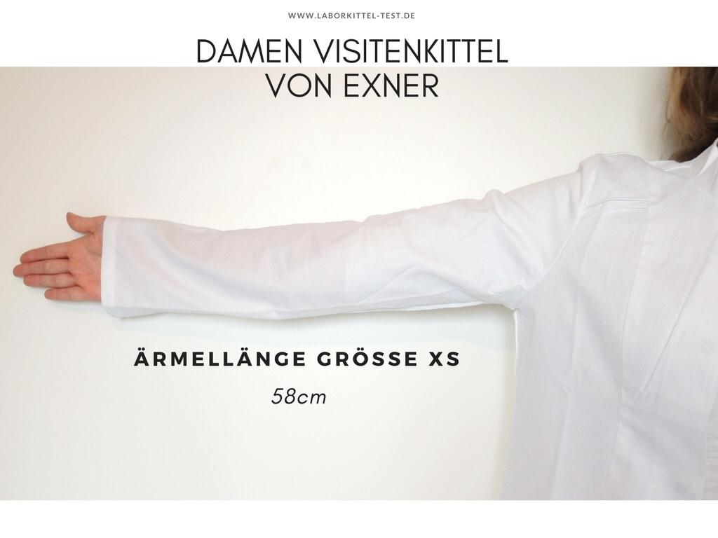 Arztkittel Exner Ärmellänge Größe 34 58cm
