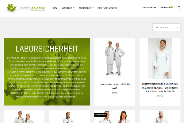 Laborkittel Brands - DoctorLab