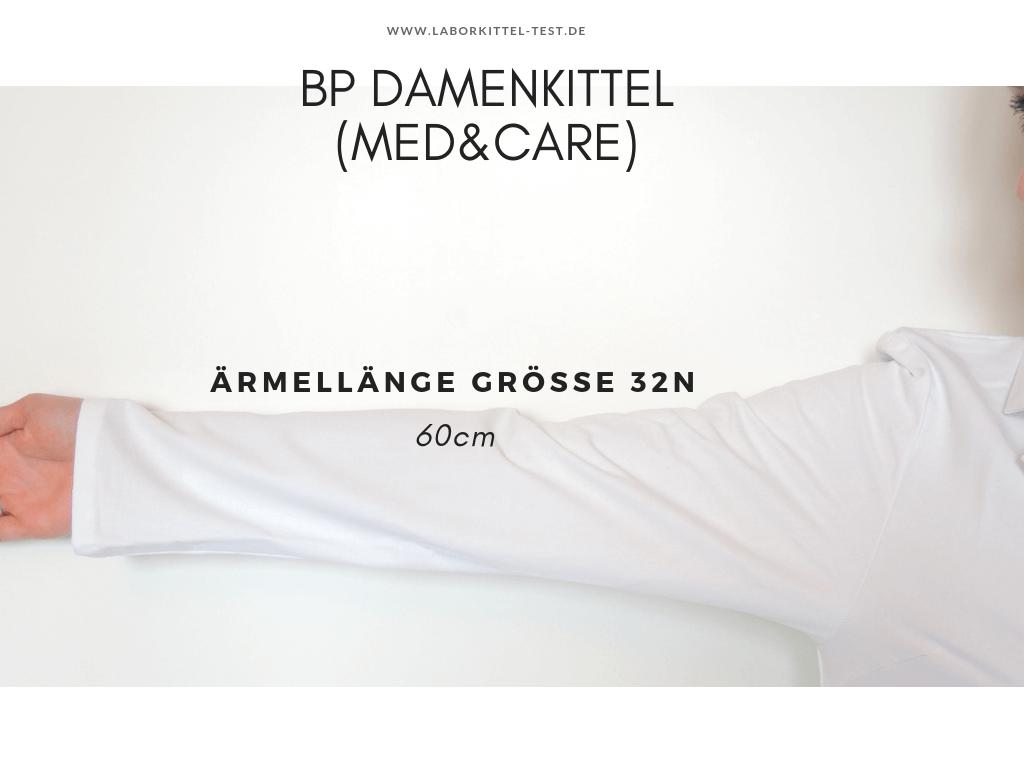 Arztkittel Damen BP langarm 34 60cm