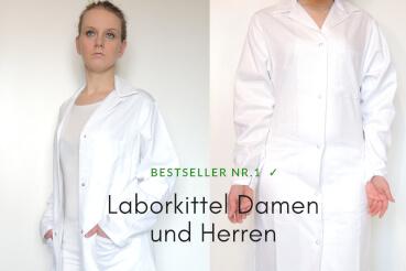 Damen-Herren-Laborkittel-Druckknöpfe-an-den-Ärmeln-weiß-369x246